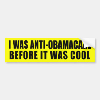 Funny Anti-Obamacare Bumper Stickers