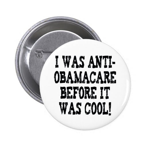 Funny Anti-Obamacare Button