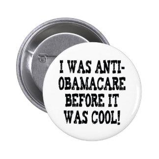 Funny Anti-Obamacare Pinback Button
