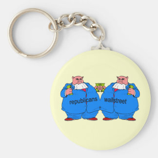 Funny anti Republican Keychain