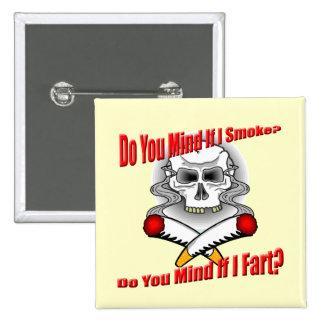 Funny Anti-Smoking T-shirts Gifts Pinback Button