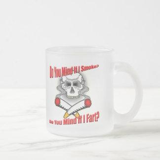 Funny Anti-Smoking T-shirts Gifts 10 Oz Frosted Glass Coffee Mug