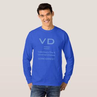 Funny Anti-Valentine VD shirts & jackets