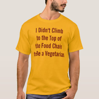 Funny anti vegetarian shirt