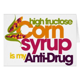 Funny antidrug card
