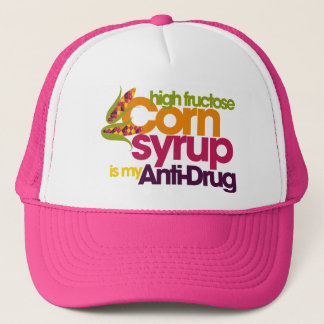 Funny antidrug trucker hat