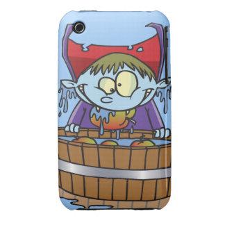 funny apple bobbing champion cartoon iPhone 3 Case-Mate cases