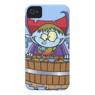 funny apple bobbing champion cartoon Case-Mate iPhone 4 cases