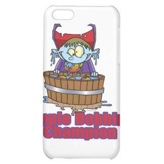 funny apple bobbing champion cartoon iPhone 5C case