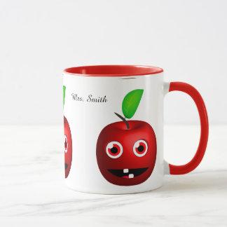 Funny Apple For Teacher Mug