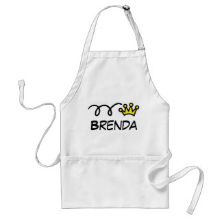 Funny apron with name