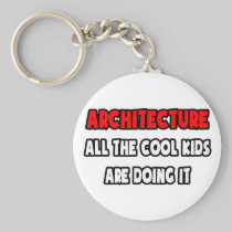 Funny Architect Shirts and Gifts Key Chain