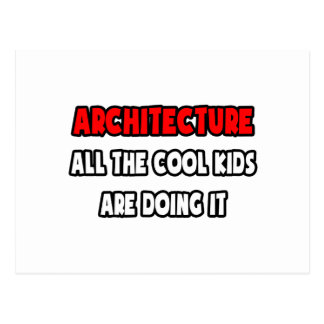 Funny Architect Shirts and Gifts Postcard