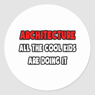 Funny Architect Shirts and Gifts Stickers