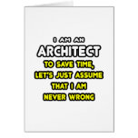 Funny Architect T-Shirts and Gifts Cards