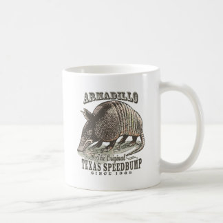 Funny Armadillo Speedbumps by Mudge Studios Coffee Mug