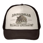 Funny Armadillo Speedbumps by Mudge Studios Hat