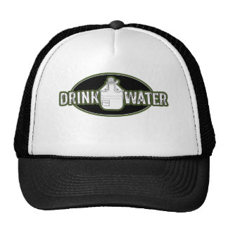 "Funny Army ""Drink Water"" Trucker Hat"