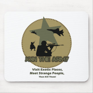 Funny Army Mouse Pad