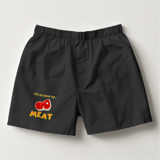 funny ask me about my meat boxers