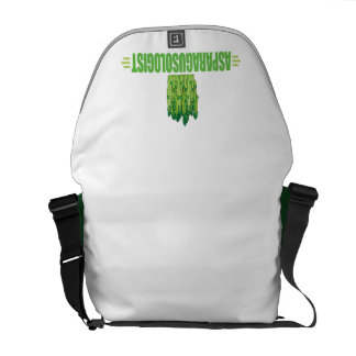 Funny Asparagus Messenger Bags