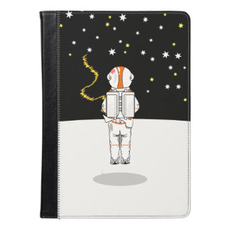 Funny Astronaut Caught Short Weeing In Space iPad Air Case