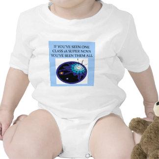 funny astronomy joke baby bodysuit