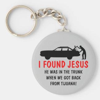 Funny atheist I found Jesus Keychain