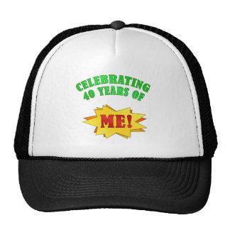 Funny Attitude 40th Birthday Gifts Mesh Hat
