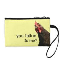Funny Attitude Chicken Coin Wallet