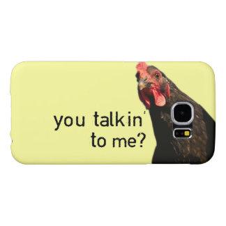Funny Attitude Chicken Samsung Galaxy S6 Case