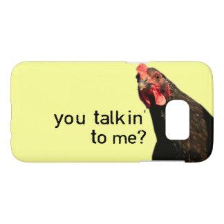 Funny Attitude Chicken Samsung Galaxy S7 Case