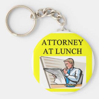 funny attorney lawyer joke basic round button keychain