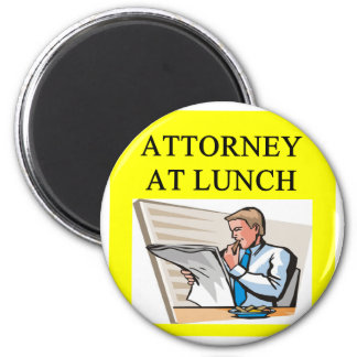 funny attorney lawyer joke 2 inch round magnet