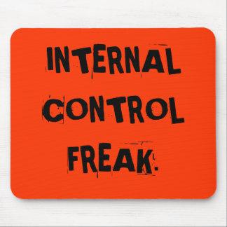 Funny Auditor Nickname - Internal Control Freak Mouse Pad
