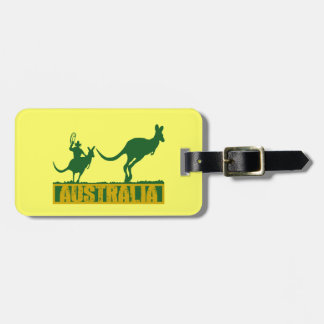 Funny Australia Tag For Luggage