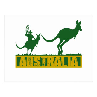 Funny Australia Postcard