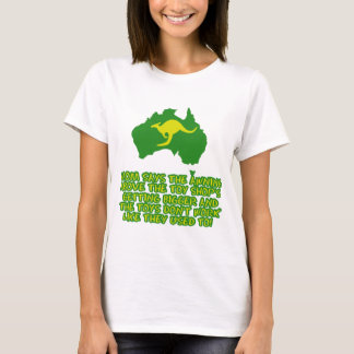 Funny Australian slang T-Shirt