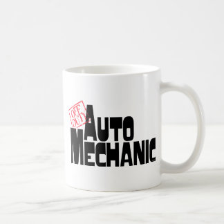 Funny Auto Mechanic Classic White Coffee Mug