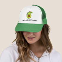 Funny Avocado Chubby But Good Fat Trucker Hat