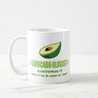 Funny Avocado Lover Classic White Coffee Mug