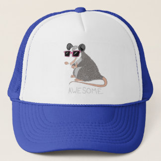 Funny Awesome Possum Trucker Hat
