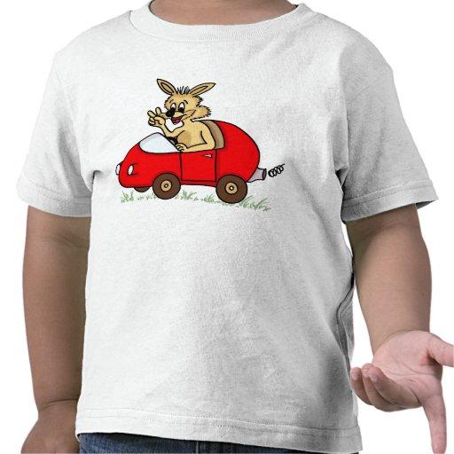 "funny babies' t-shirt ""bunny "" camisetas"