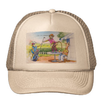 Funny Baboons Mesh Hats