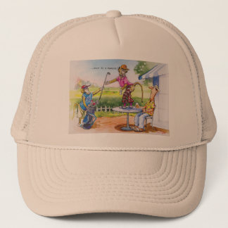 Funny Baboons Trucker Hat