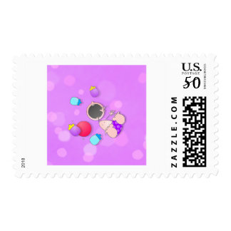Funny Baby Bowling Postage