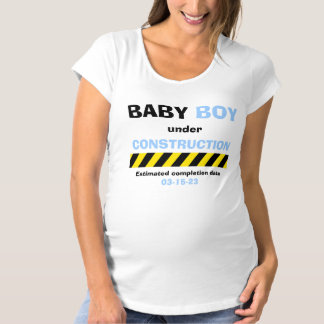 Funny Baby Boy Maternity Pregnancy for Women Maternity T-Shirt