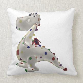 Funny Baby Dragon Throw Pillow