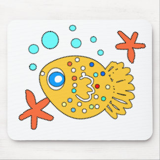 funny  baby  fish mousepad