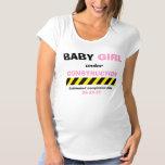 Funny Baby Girl Maternity Pregnancy Women T Shirt